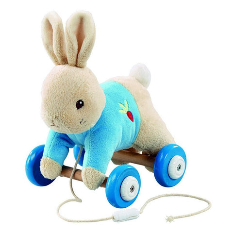 Bambinista-RAINBOW DESIGNS-Toys-PETER RABBIT Peter Pull Along Toy