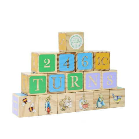 Bambinista-RAINBOW DESIGNS-Toys-PETER RABBIT Wooden Blocks Set