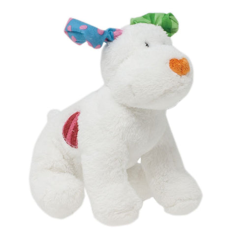 Bambinista-RAINBOW DESIGNS-Toys-THE SNOWMAN Dog Bean Toy