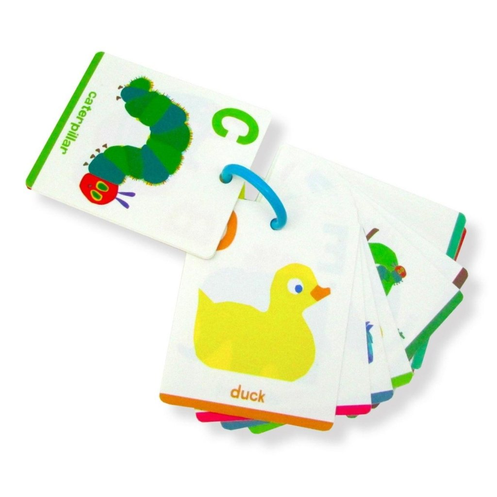 Bambinista-RAINBOW DESIGNS-Toys-The Very Hungry Caterpillar Plastic Flash Cards