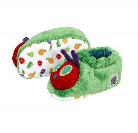 Bambinista-RAINBOW DESIGNS-Outerwear-The Very Hungry Caterpillar Tiny Caterpillar Booties