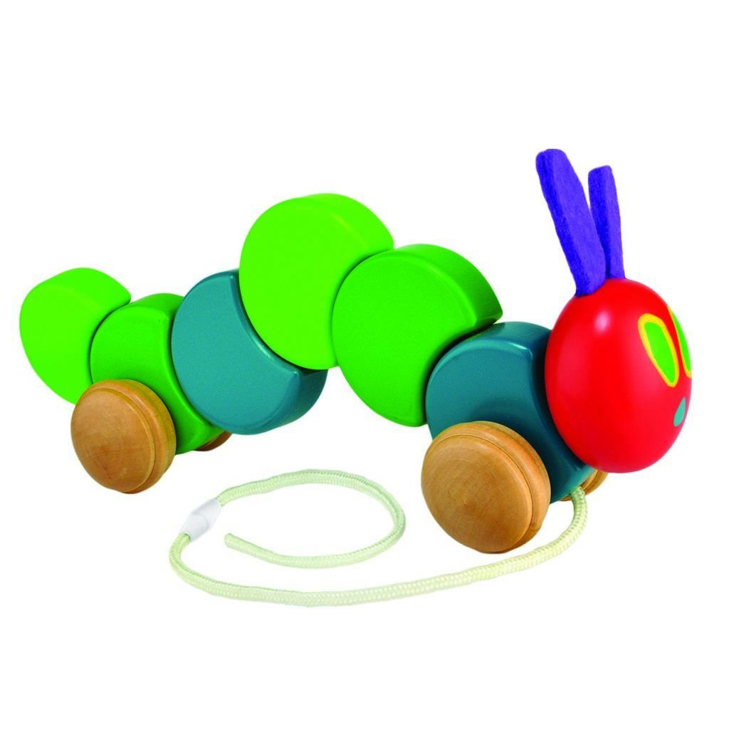 Bambinista-RAINBOW DESIGNS-Toys-VHC Pull Along Caterpillar