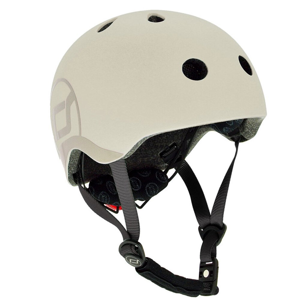 Bambinista-SCOOT AND RIDE-Toys-Helmet S-M - Ash