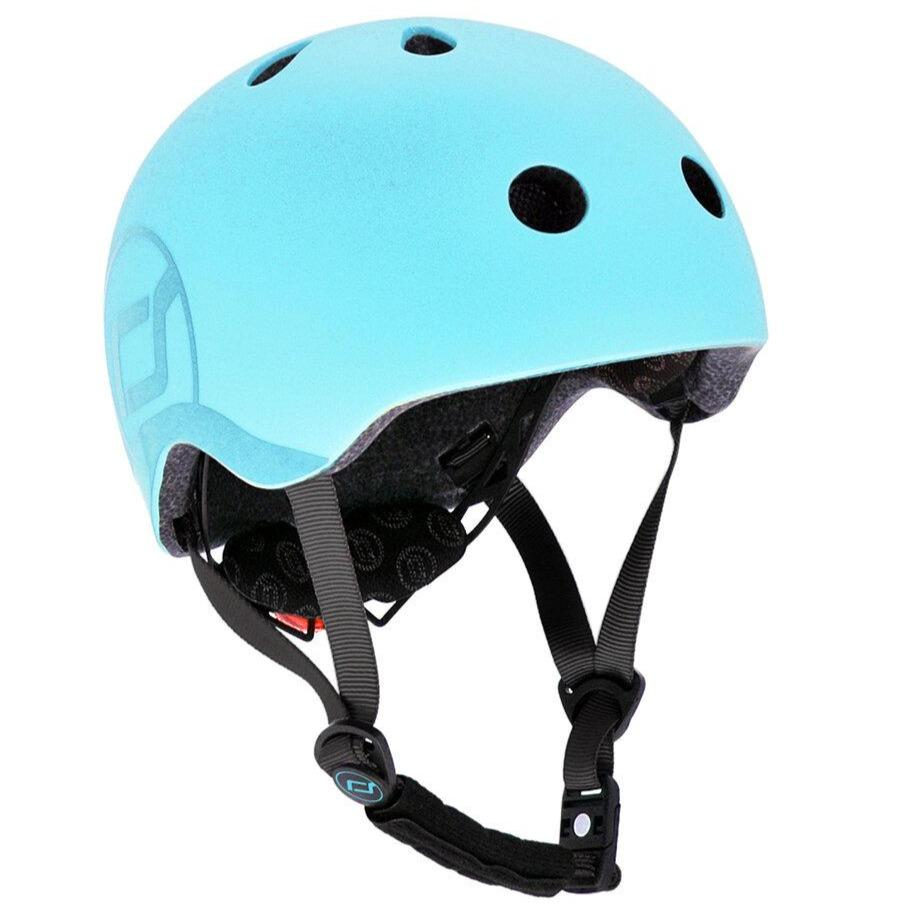 Bambinista-SCOOT AND RIDE-Toys-Helmet S-M - Blueberry