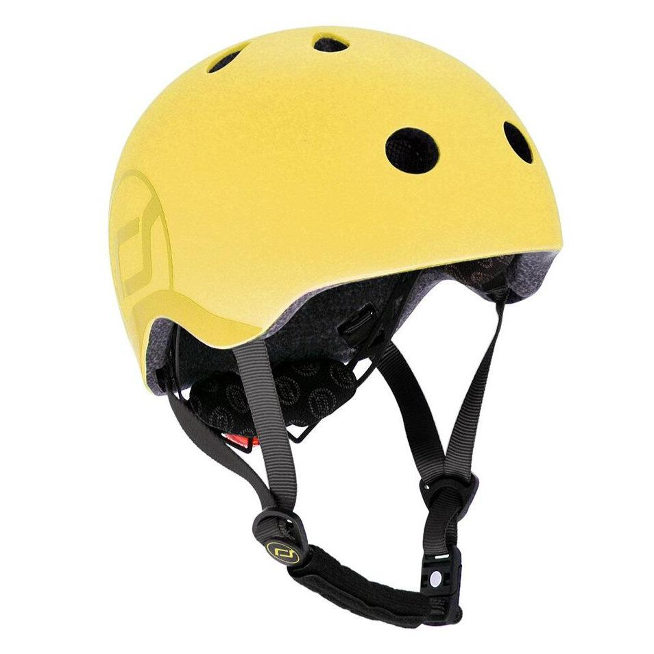 Bambinista-SCOOT AND RIDE-Toys-Helmet S-M - Lemon