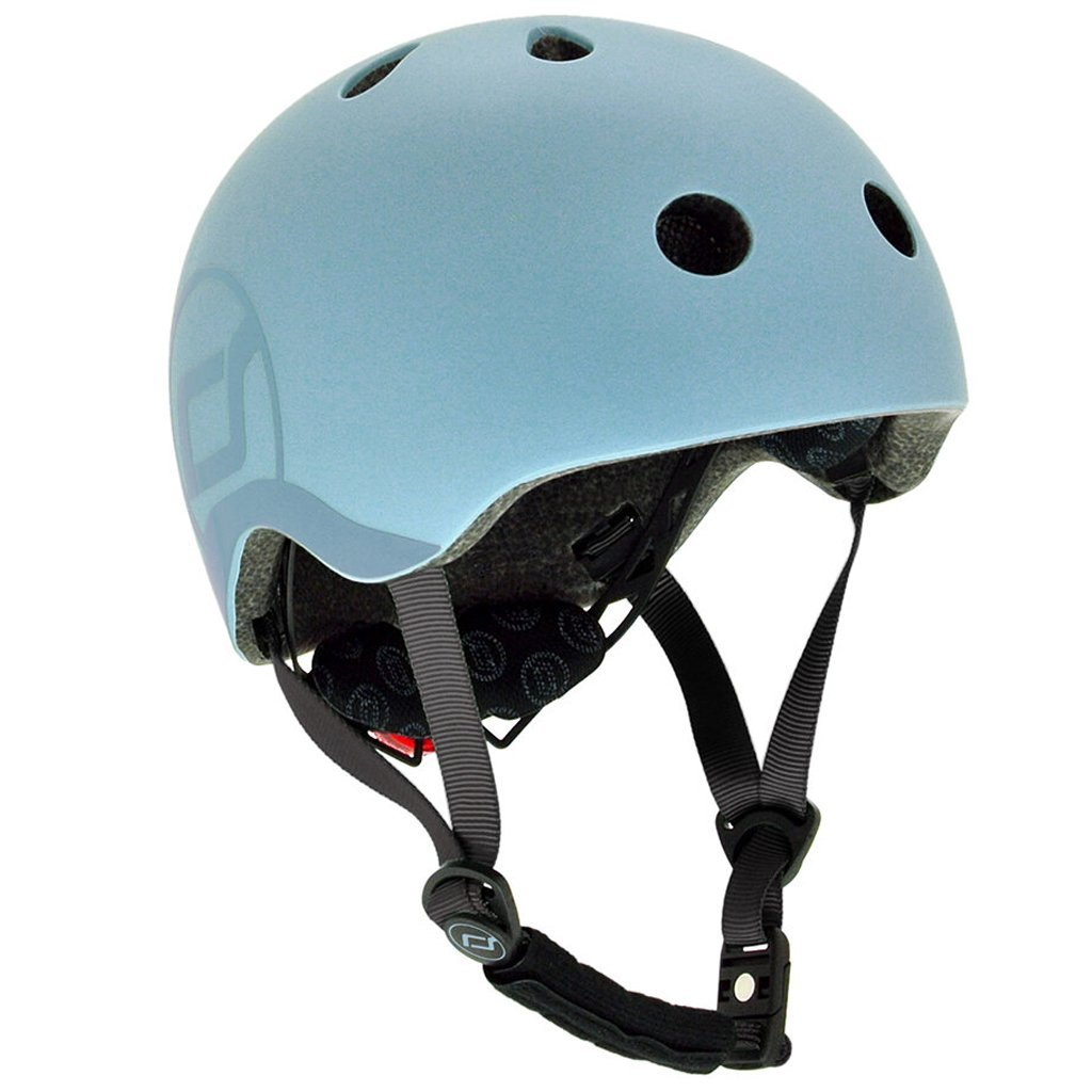 Bambinista-SCOOT AND RIDE-Toys-Helmet S-M - Steel