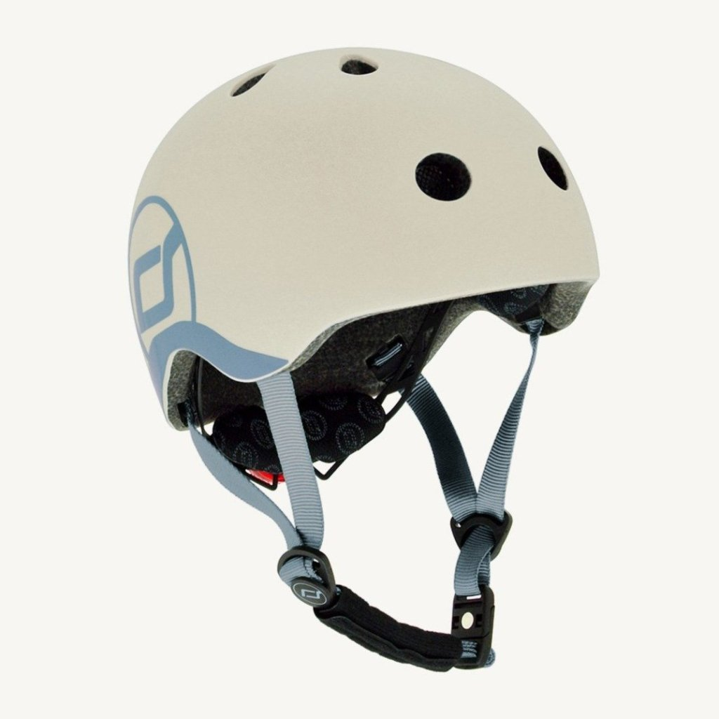 Bambinista-SCOOT AND RIDE-Toys-Highway Helmet Ash XS/S (Age 1-3 Years)