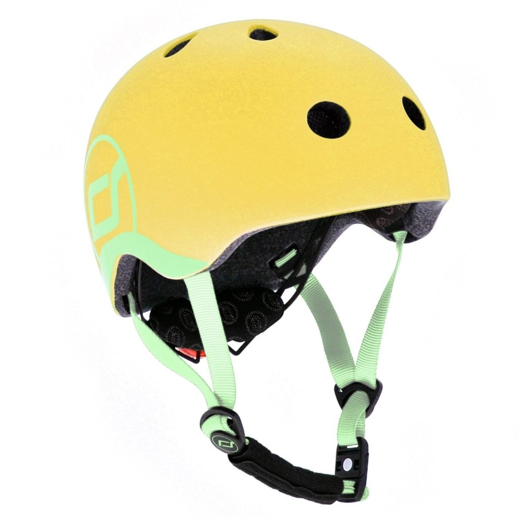 Bambinista-SCOOT AND RIDE-Toys-Highway Helmet Lemon XS/S (Age 1-3 Years)