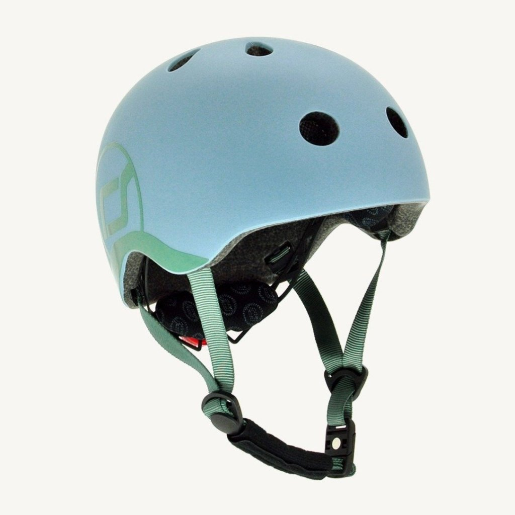 Bambinista-SCOOT AND RIDE-Toys-Highway Helmet Steel XS/S (Age 1-3 Years)