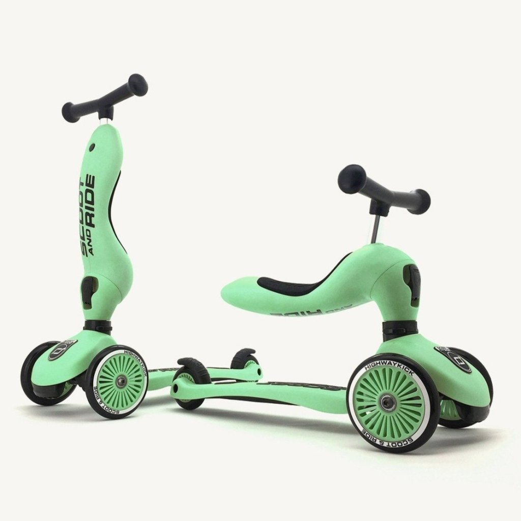 Bambinista-SCOOT AND RIDE-Toys-Highway Kick 1 Kiwi