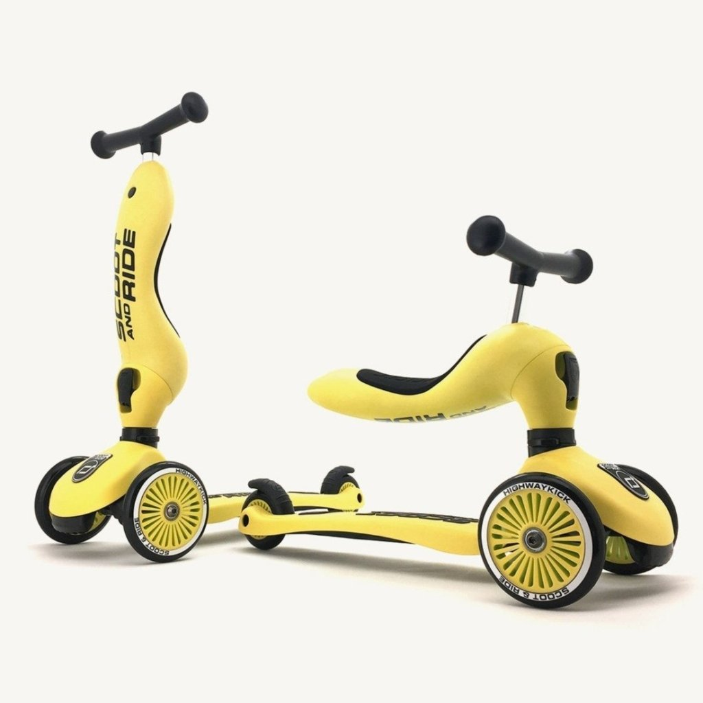 Bambinista-SCOOT AND RIDE-Toys-Highway Kick 1 Lemon