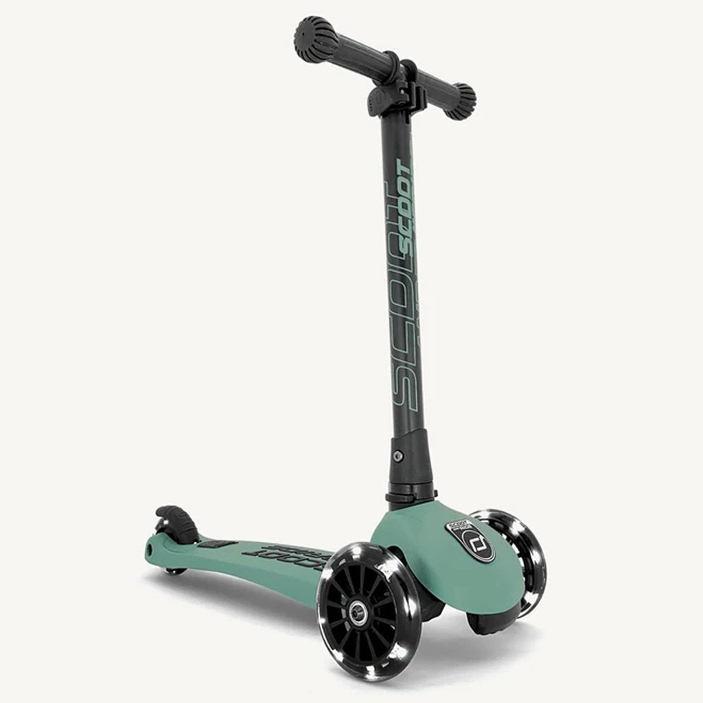 Bambinista-SCOOT AND RIDE-Toys-Highway Kick 3 LED - Forest