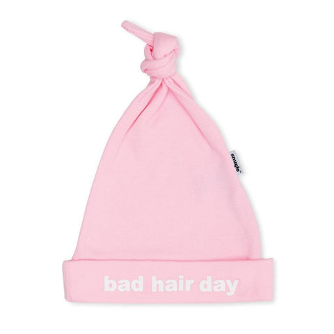 Bambinista-SNUGLO-Accessories-Hat 'Bad Hair Day' Pink