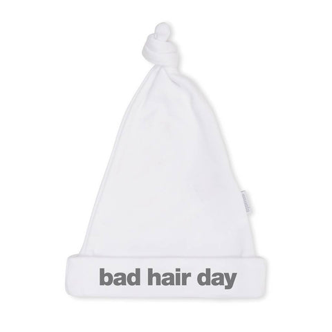 Bambinista-SNUGLO-Accessories-Hat 'Bad Hair Day' White