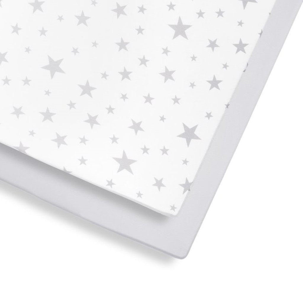 Bambinista-SNUZ-Bedding-Snuz 2 Pack Cot & Cot Bed Fitted Sheet – Star