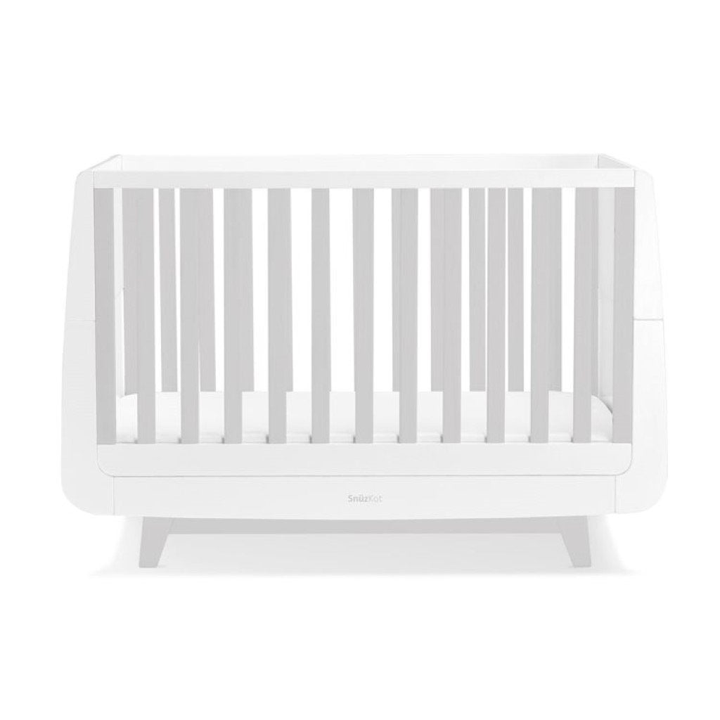 Bambinista-SNUZ-Furniture-SnuzKot Luxe Cot Bed - Grey