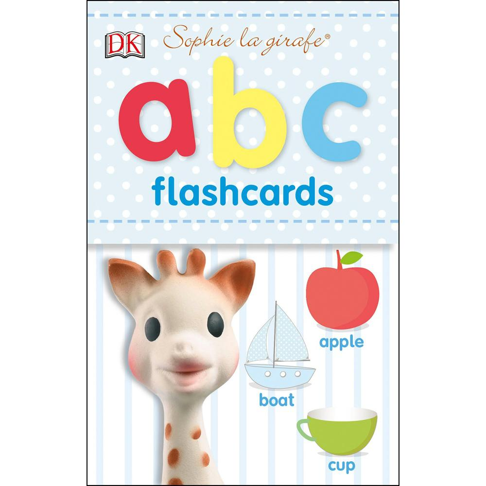 Bambinista-SOPHIE LA GIRAFE-Toys-Sophie the Giraffe ABC Flash Cards
