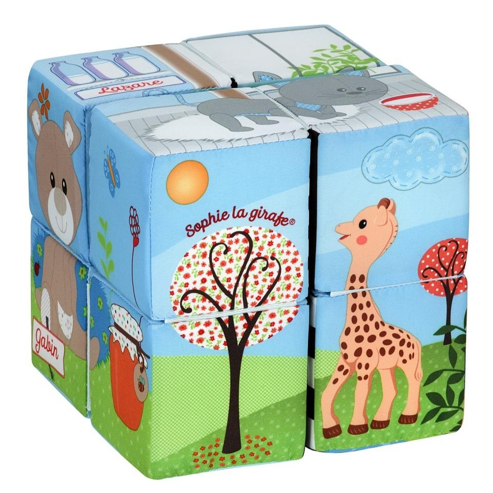 Bambinista-SOPHIE LA GIRAFE-Toys-Sophie the Giraffe Magic Cubes