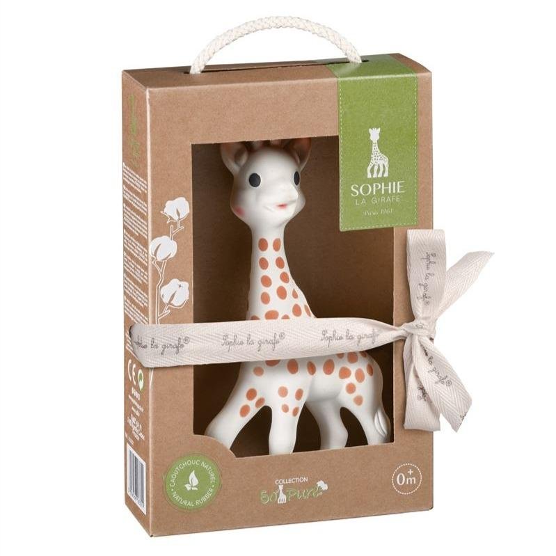 Bambinista-SOPHIE LA GIRAFE-Toys-Sophie the Giraffe - So Pure Gift Box