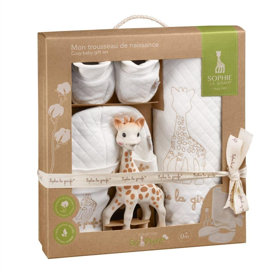 Bambinista-SOPHIE LA GIRAFE-Gifts-Sophie the Giraffe So Pure Gift Set