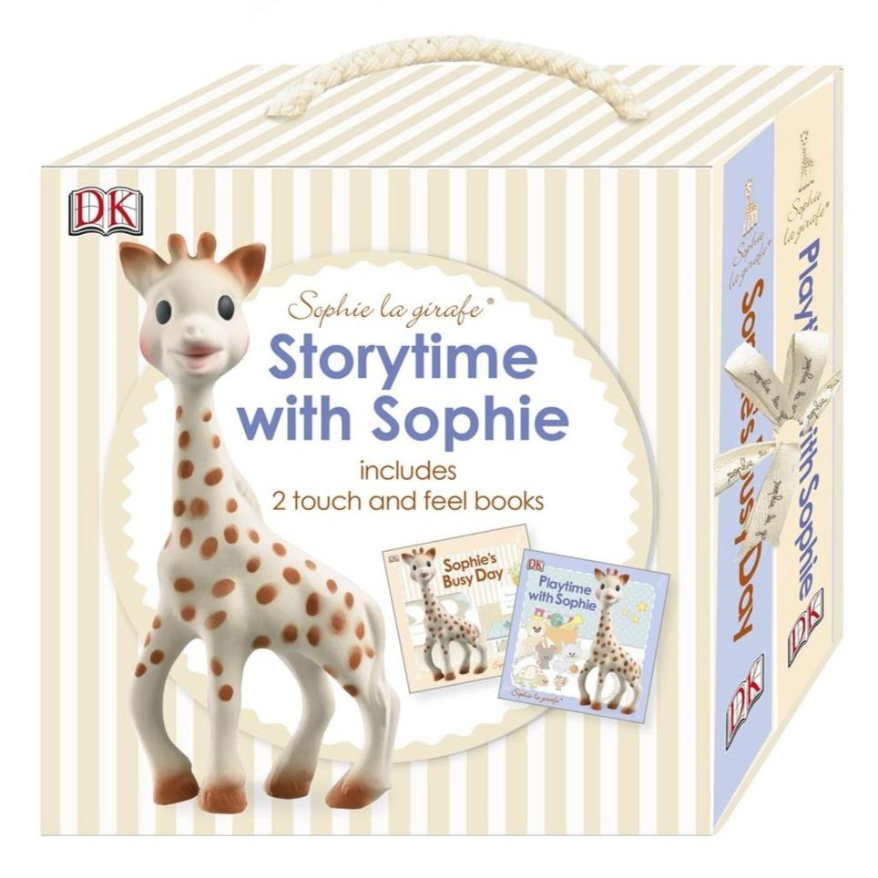 Bambinista-SOPHIE LA GIRAFE-Books-Sophie the Giraffe Storytime with Sophie 2 Books