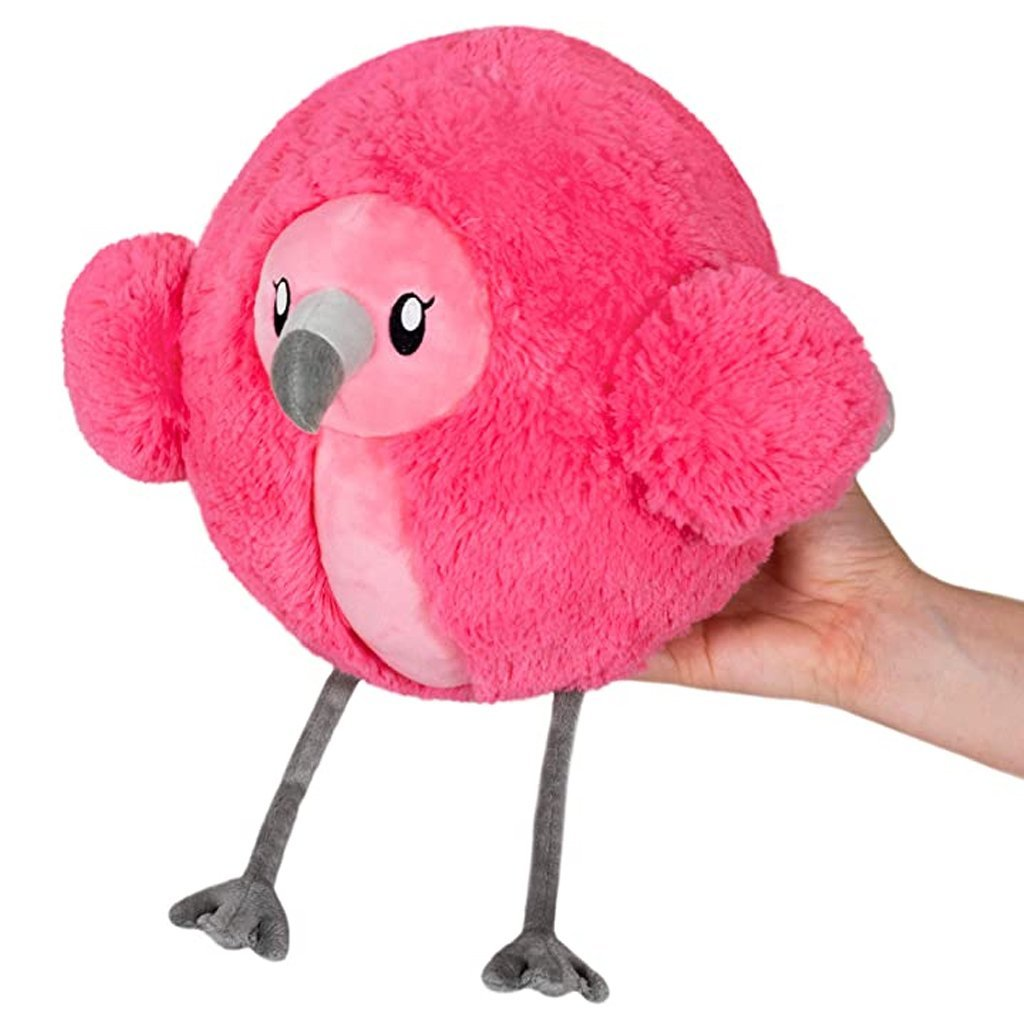 Bambinista-SQUISHABLE-Toys-Fluffy Flamingo