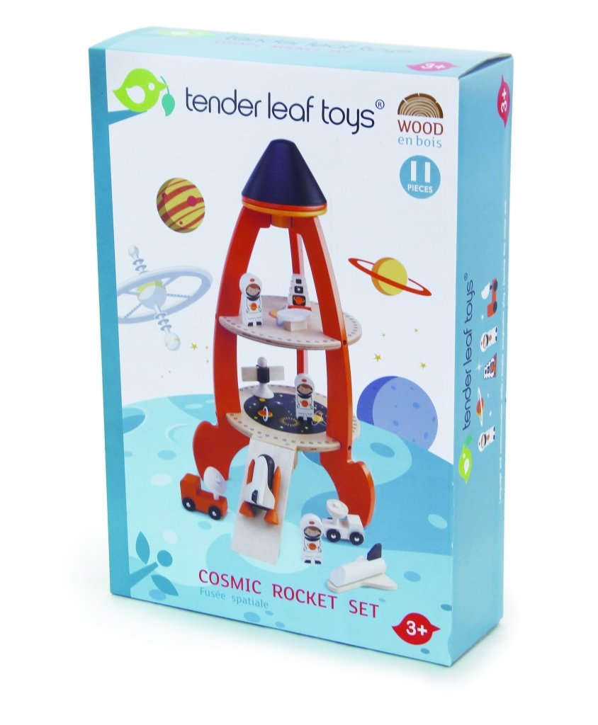 Bambinista-TENDER LEAF TOYS-Toys-Cosmic Rocket Set