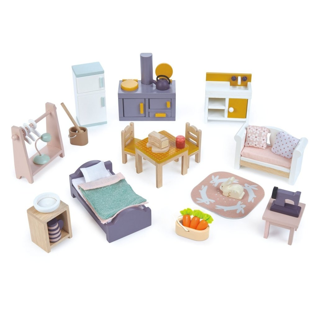 Bambinista-TENDER LEAF TOYS-Toys-Countryside Furniture Set