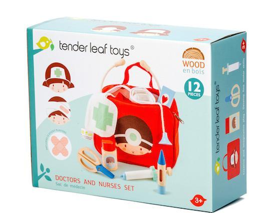 Bambinista-TENDER LEAF TOYS-Toys-Doctors and Nurses Set