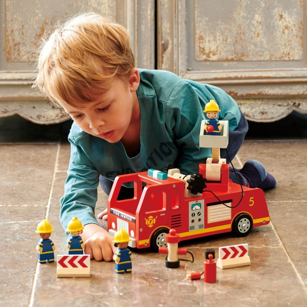 Bambinista-TENDER LEAF TOYS-Toys-Fire Engine