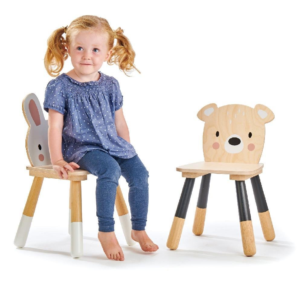 Bambinista-TENDER LEAF TOYS-Toys-Forest Bear Chair - HOME DELIVERY