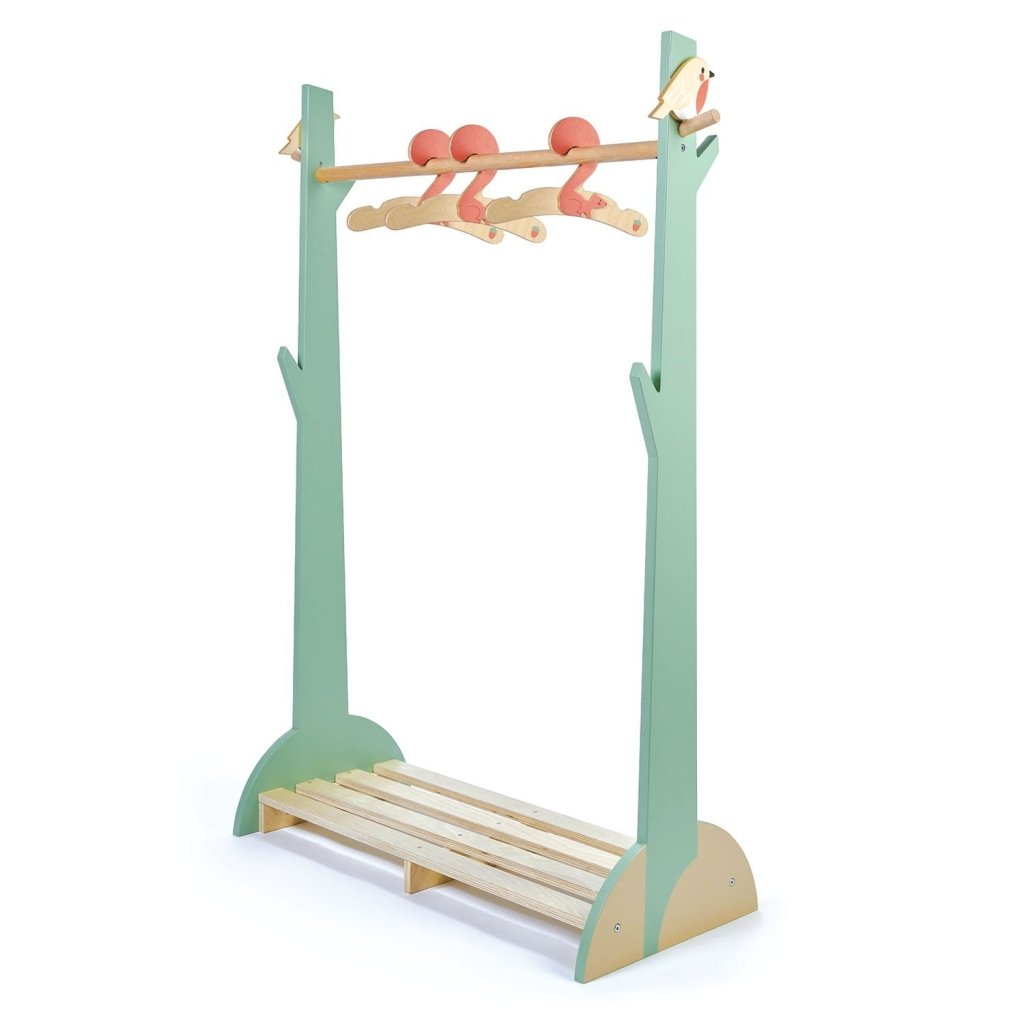 Bambinista-TENDER LEAF TOYS-Furniture-Forest Clothes Rail