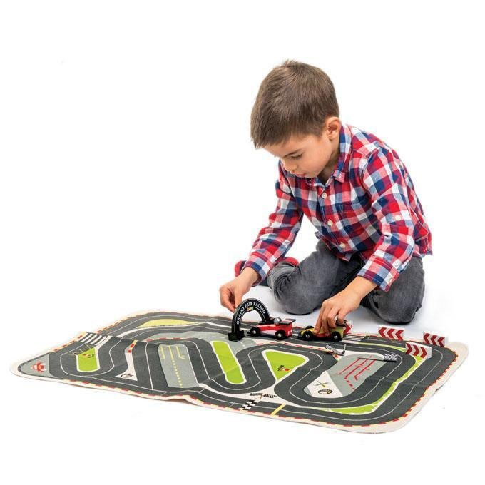 Bambinista-TENDER LEAF TOYS-Toys-Formula One Racing Playmat