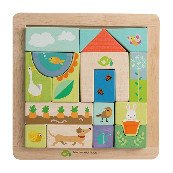 Bambinista-TENDER LEAF TOYS-Toys-Garden Patch Puzzle