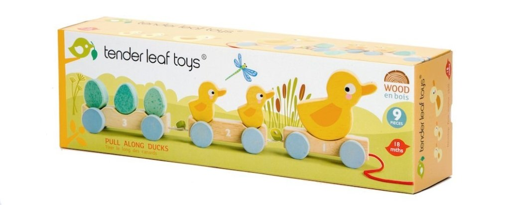 Bambinista-TENDER LEAF TOYS-Toys-Pull Along Ducks