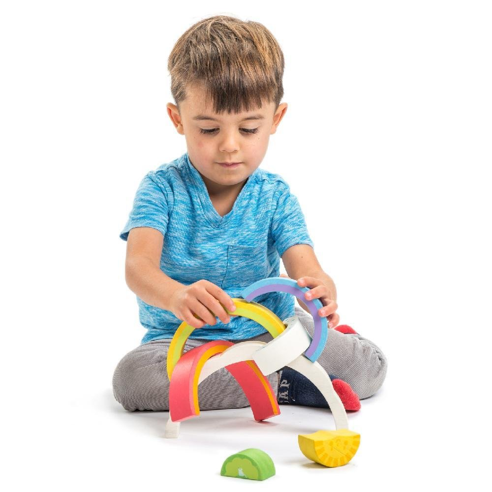 Bambinista-TENDER LEAF TOYS-Toys-Rainbow Tunnel