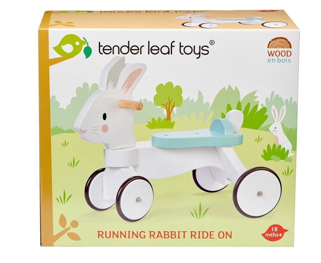 Bambinista-TENDER LEAF TOYS-Toys-Running Rabbit Ride On