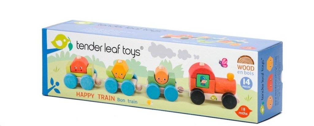 Bambinista-TENDER LEAF TOYS-Toys-Tender Leaf Toys Happy Train