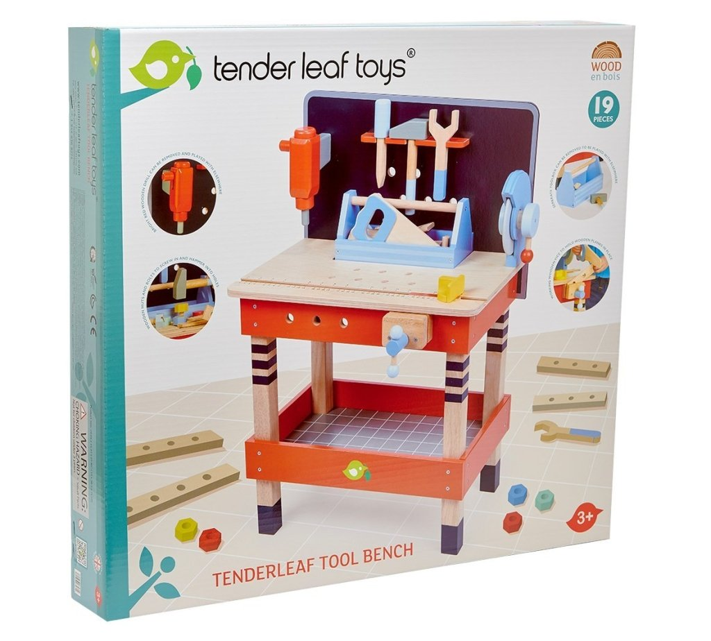 Bambinista-TENDER LEAF TOYS-Toys-Tool Bench - HOME DELIVERY