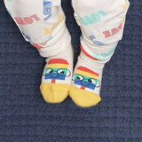 Bambinista-THE BONNIE MOB-Accessories-LOVE RAINBOW Rimini Lolly Short Socks
