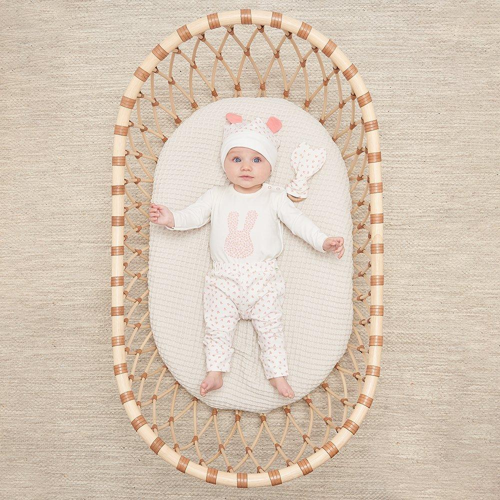 Bambinista-THE BONNIE MOB-Onesies-Skylar Bodysuit Pink