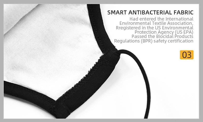 Bambinista-THE KIDS MASK-Accessories-Kids Antiviral and Antibacterial Mask - TKM Innovation Oscar Black