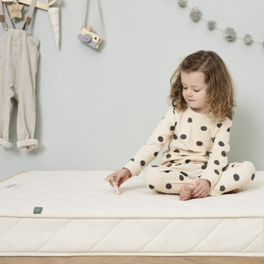 Bambinista-THE LITTLE GREEN SHEEP-Bedding-The Little Green Sheep Natural Junior Mattress - 90x190cm