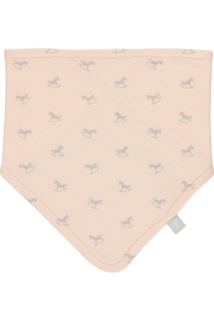 Bambinista-THE LITTLE TAILOR-Accessories-2 Pack Rocking Horse Bib Set - Pink