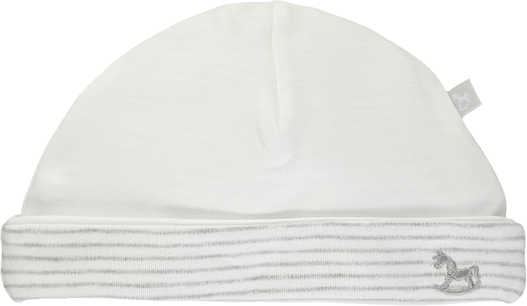 Bambinista-THE LITTLE TAILOR-Accessories-2 Pack Soft Jersey Hats - White