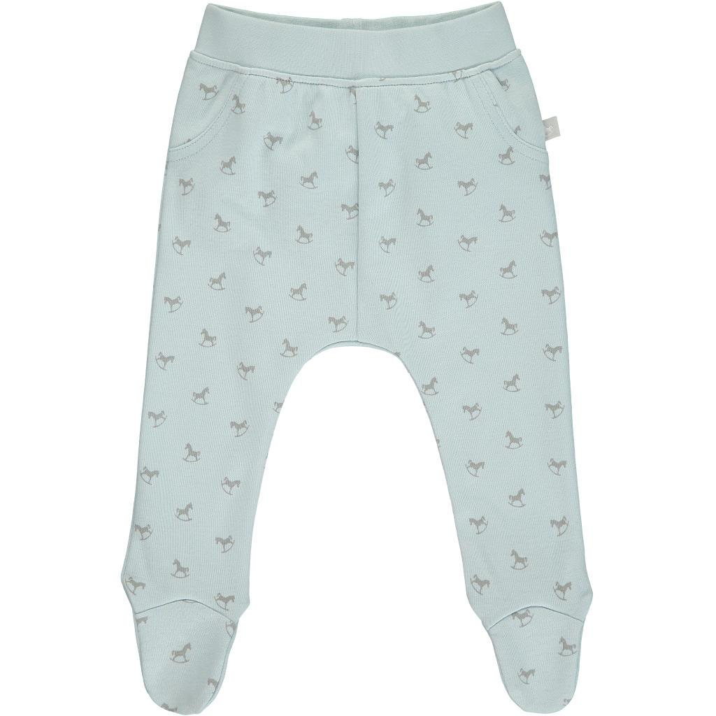 Bambinista-THE LITTLE TAILOR-Bottoms-Comfy Rocking Horse Print Pant - Blue