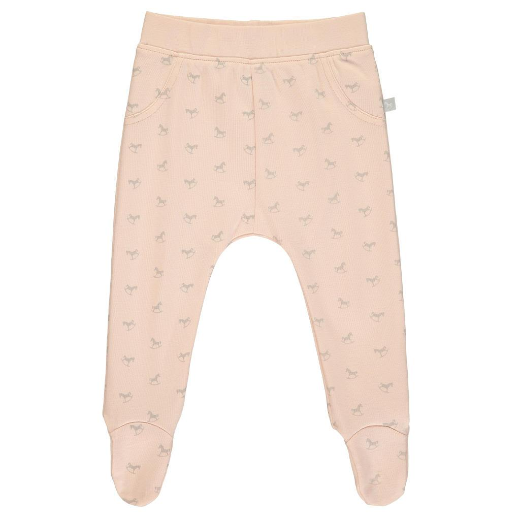 Bambinista-THE LITTLE TAILOR-Bottoms-Comfy Rocking Horse Print Pant - Pink
