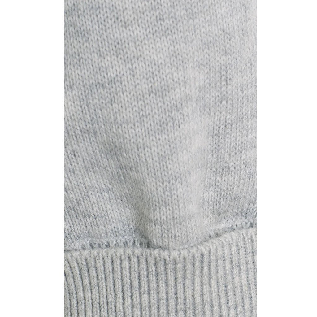 Bambinista-THE LITTLE TAILOR-Bottoms-Cotton Knitted Pants -Soft Grey