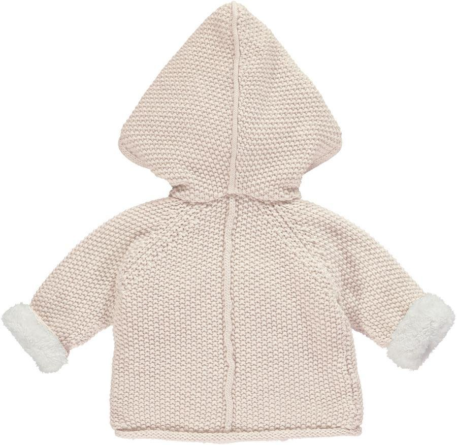Bambinista-THE LITTLE TAILOR-Outerwear-Pram Coat Plush Lined - Pink