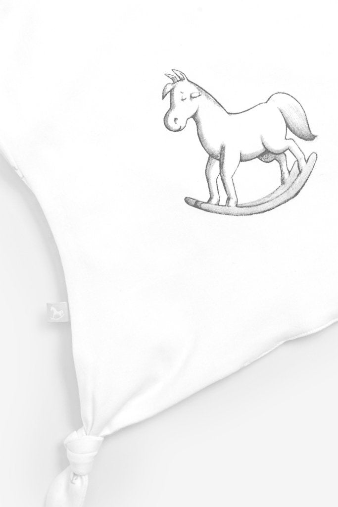 Bambinista-THE LITTLE TAILOR-Accessories-Super Soft Jersey Sleep Suit, Hat And Comforter Gift Set- White